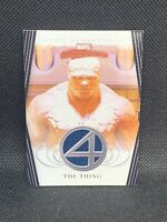 2008 Upper Deck Marvel Masterpieces Fantastic Four Movie Memorabilia The Thing!
