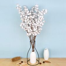 1Pc Artificial Berries Stems Christmas Berry Branch Flower Snow Tree Decor Us