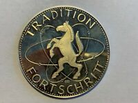 Tradition Fortschritt, Hamm 1.1.1975, Medaille, Silber, 1000 gestempelt !!!