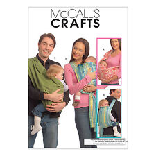 McCall's 5678 Sewing Pattern to MAKE Fabric Baby Carry Slings in 3 sizes