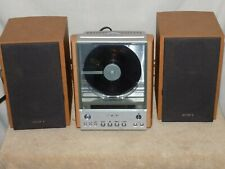 Sony Hcd-Ex1 Compact Stereo System Radio Cd Speakers Shelf Cmt Ex1 Tested Works