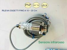 Sensore infrarosso  PNP SICK  12~24 VDC 100mA fotocellula D.18