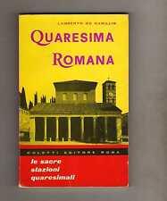 quaresima romana - lamberto de camillis -boxstock19
