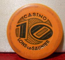 JETON 10 CASINO LONS LE SAUNIER (39)