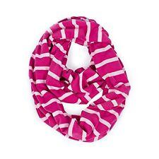 NEW Itzy Ritzy Nursing Happens Infinity Breastfeeding Scarf Pink Peony Stripe