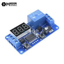 DC 12V LED Display Digital Delay Timer  PLC Automation Control Switch Module