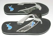 Detroit Lions Women's Sequin Flip Flops size Sm (5-6) or Med (7-8) New w/Tag