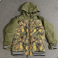 Boys Burton Dry Ride  Snowboard Jacket Size S NWOT Discontinued Pattern