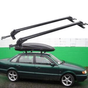 "43.3"" Aluminum Car Roof Rack Luggage Carrier Cross Bar w/ Lock For VW Passat US"