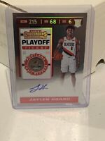 2019-20 PANINI CONTENDERS-JAYLEN HOARD-PLAYOFF TICKET AUTO RC #/99-TRAIL BLAZERS