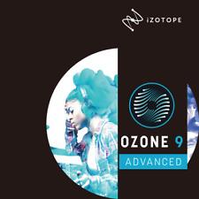 iZotope Ozone 9 Advanced - New Genuine Serial License - Digital Delivery