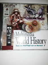Multimedia World History Take the Mystery Out of History CD Rom