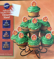 Wilton Black Cupcake & Dessert Stand Holds 13 Treats