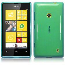 For Nokia Lumia 520 Slim Tpu Gel Silicone Skin Back Case Cover