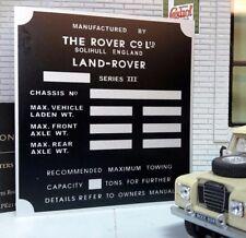 Land Rover Série 3 1 Tonne Lampe Boîte de Vitesse / Boitier Transfert Châssis