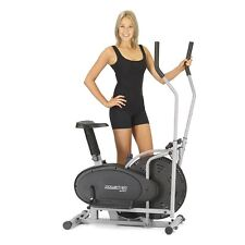 Elliptical cross trainer and exercise bike