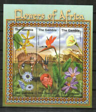 Gambia Stamp - Flowers of Africa Stamp - NH