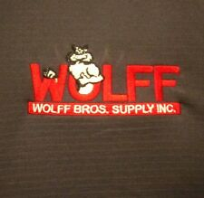 WOLFF BROS. SUPPLY lrg polo shirt Bathroom & Kitchen contractor DIY showroom