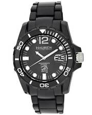 Haurex Italy Men's N7354UNN Caimano Black Dial Luminous Plastic Date Wristwatch