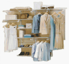 Rubbermaid 3H89 Configurations 4-to-8-Foot Deluxe Custom Closet Organizer System