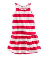 Stunning NEW H&M Stripy Dress ~ 4-5yrs BNWT NEXT SUMMER 100% Cotton 4-5y 5-6y
