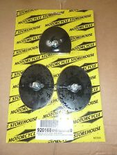harley davidson early style rocker clutch and brake pedal rubber pad set