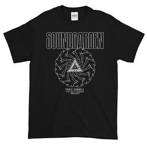 SoundGarden RIP Chris Cornell Tribute 100% Cotton Gildan T-shirt