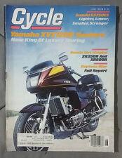 1983 JUNE CYCLE MAGAZINE YAMAHA XVZ1200 VENTURE HONDA XR350R XR500R GS750ES