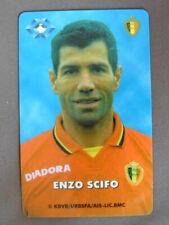 Prepaid Kaart gebruikt Belgie  Enzo Scifo / Football Player