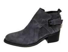 New TONY BIANCO 'Firenze' Asphalt Suede Buckled Bootie  7 M