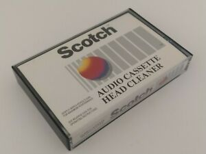 """Scotch Audio Head Cleaner For Cassette Tape Recorders """"NEW & SEALED"""""""