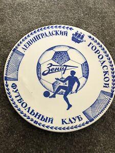 Leningrad Football Club Plate