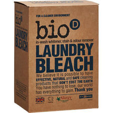Bio-d Laundry Booster 400 g (Pack of 3) Antibacterial and Sanitizing Whitener