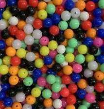 Mixed Colour Sea Fishing Beads 8mm 6mm - High Quality Fishing Rig Tackle