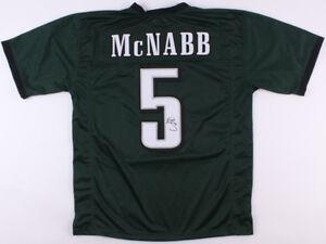 Donovan McNabb Signed Philadelphia Eagles Green Jersey (JSA COA) 6 X Pro Bowl QB