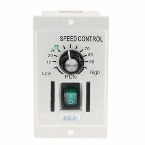 220V Speed Controller Knob Motor Adjustable Lathe Control Single-phase