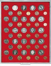Münzbox Standard für 5 × DM Kursmünzensätze (mit je 10 Münzen) [Lindner 2207]