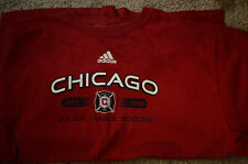 Chicago Fire Long Sleeve T-Shirt LARGE (L)