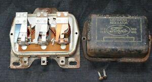 Ford Falcon Voltage Regulator C2DF-10505-A 15v 25a  Fomoco Vintage OEM Original