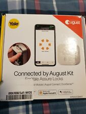 Yale Connected by August Kit for #AYR202CBAKIT Yale Assure Lock - New, Free Ship