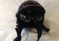 Womans Motorcycle Helmet and Goggles