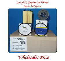 Lot 12  Engine Oil Filter SOE6162 Fits:Dodge Dart Fiat 500 4Cyl 1.4L 2012-2015