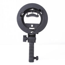 PRO Handheld Grip S-Type Bracket Bowens Mount Holder For Speedlite Flash Softbox