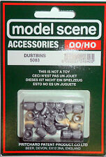 Model Scene 5083 OO/HO Dustbins