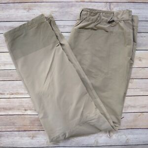 REI Co OP Men's Nylon Hiking Outdoor Pants Size 40W x 32L Taupe