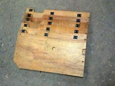 OEM ECU Wood Floorboard Cover - 90-96 Nissan 300zx Z32 - Wooden Carpet Floor etc
