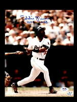 Eddie Murray PSA DNA Coa Hand Signed 8x10 Photo Autograph