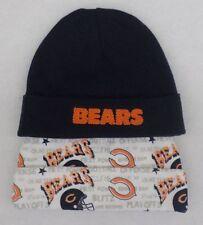 NFL Chicago Bears 2 Pack Newborn Caps Size 0-6 Months