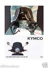 CUPOLINO FUMÈ KYMCO LIKE-LIKE LX 125-200 cod.28650