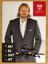 Sven Mislintat AK VfB Stuttgart Autogrammkarte 2019-20 original signiert
